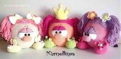 Patrón Amigurumi gratis de lindas muñequitas Murmellinos chicas