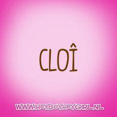 Cloi (Voor meer inspiratie, en unieke geboortekaartjes kijk op www.heyboyheygirl.nl)