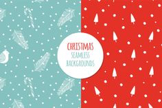 Check out Christmas backgrounds by Rinomonsta on Creative Market