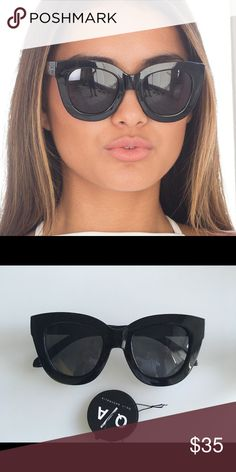 440c501cba74 Shop Women s Quay Australia Black size OS Sunglasses at a discounted price  at Poshmark. Description  Brand new black sugar and spice quay.