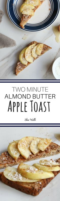 This easy toast makes the perfect easy snack, breakfast or dessert! // Great for people who are vegetarian, vegan or gluten-free! Click to read now or pin for later!