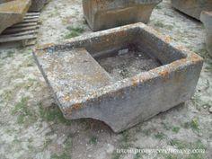 Old limestone laundry trough