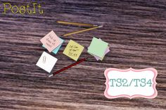 Mony Sims : PAPER CLUTTER POST IT - CONVERSÃO TS2-TS4