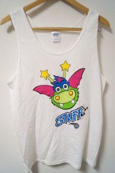 Men's Orlando Magic Stuff Mascot Tank Top T-Shirt White Size S | Clothing, Shoes & Accessories, Men's Clothing, T-Shirts | eBay!