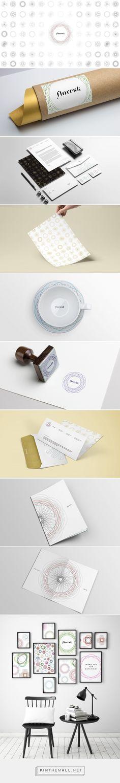 Floresk Design - Identity for my graphic company on Behance by Virag Veszteg