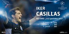 Íker Casillas bate el récord de partidos en Champions League http://infovzla.net/deportes/iker-casillas-bate-el-record-de-partidos-en-champions-league/…