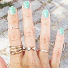 Merchandiser Chrstine's nail art + decked digits! #chloeandisabel
