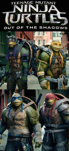 Don't miss Teenage Mutant Ninja Turtles: Out of the Shadows, in theaters June 3, 2016. Get your tickets now!