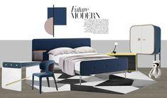 Ppt Design, Layout Design, Interior Sketch, Interior Design, Kid Spaces, Decorating Tips, Kids Bedroom, Baby Room, Furniture Design