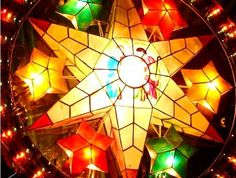 Parol is a traditional Filipino Christmas decoration, a five point star-shaped Christmas lantern. Parol reminds the Filipino Christians of the star of Bethlehem that guided the Three Wise Men on their way in search of the new-born Jesus. Christmas Parol, Christmas Lanterns, Christmas Time, Christmas Decorations, Merry Christmas, Christmas Stars, Celebrating Christmas, Christmas Nativity, Christmas Wishes