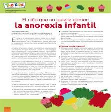 Resultado de imagen para anorexia infantil