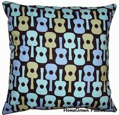 Throw Pillow Cover Decorative Accent Pillow  by HomeGrownPillows, $13.95