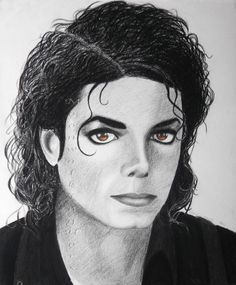 Michael Jackson Drawings, Michael Jackson Art, Art Projects, My Arts, Happy Birthday, Museum, Celebrity, Portraits, King