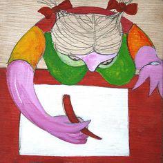 https://flic.kr/p/6VFFE5   mujer escribiendo inspirado en la obra de pablo picasso   by RAMIRO QUESADA
