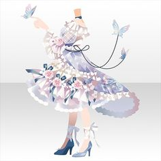 Kawaii Clothes, Kawaii Outfit, Cocoppa Play, Fashion Design Drawings, Character Outfits, Anime Outfits, Designs To Draw, Cartoon Art, Cute Art