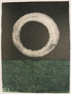 Moon (plate, folio 14) from Oda a Lorca Antonio Frasconi
