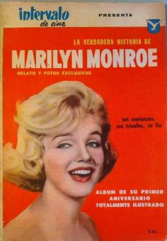 MARILYN MONROE COVER 1963 BRAZIL MAGAZINE PHOTONOVEL LOLLOBRIGIDA + SICA 300 PH.