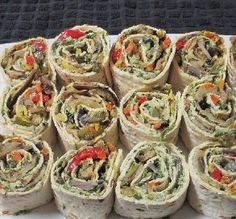 """Roasted Vegetable Wraps: """"The roasted vegetables are tasty, but add the garlic spinach spread and they are mmm, mmm good."""" —Elly in Canada"""