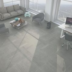 80x80 Genoa Lapatto Cinder Rectified Floor Tile - Tile Choice - Tile Choice