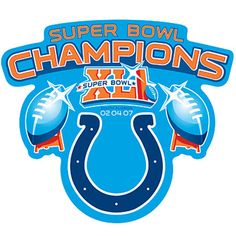 Indianapolis Colts Super Bowl champions!