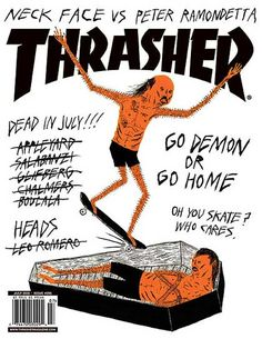 Neckface Thrasher Mag