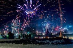 New Year Eve Celebration - Reykjavik, Iceland