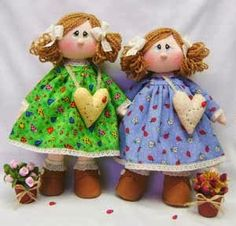 Mimin Dolls: Boneca bolsa coração