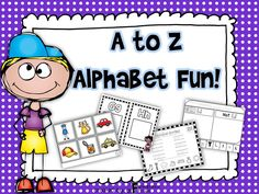 "This ""A to Z Alphabet Fun!"" unit has activities that will keep your students engaged in their learning!"