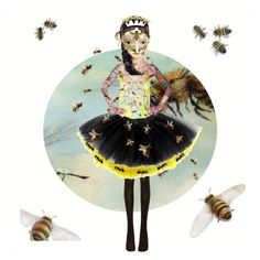 """""""2nd Insect Ball"""" by hippiechick63 ❤ liked on Polyvore featuring art"""