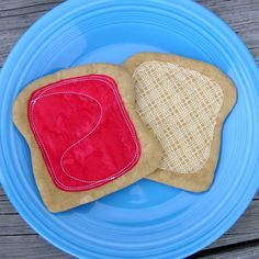 Toy Sandwich - Peanut Butter and Jelly - PBJ - Play Food
