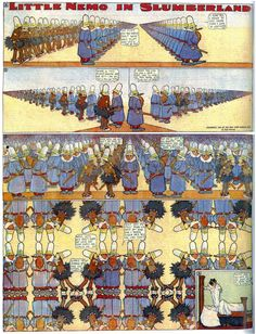A digital library of classic comic strips, featuring Winsor McCay's Little Nemo and George Herriman's Krazy Kat Little Nemo In Slumberland, Windsor, Comic Art, Comic Books, William Hogarth, Comic Styles, Art Styles, Bd Comics, Comic Panels