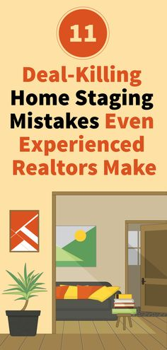 11 Deal-Killing Home Staging Mistakes Even Experienced Realtors Make - Check out our top tips on home staging for real estate agents trying to sell a home. Real Estate Staging, Real Estate Tips, Sell Your House Fast, Selling Your House, Sell House, Getting Into Real Estate, Looking For Houses, Home Staging Tips, House Staging Ideas