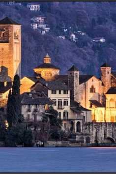 Isola di San Giulio,  Pella, Piedmont, Italy