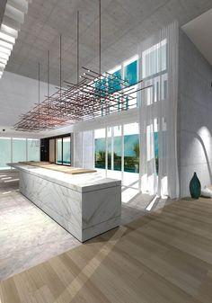 ToGu Architecture - MIA 860 Conception d'une villa de 480 m² / 5 200 SQ FT Miami Beach- Normandy Shore