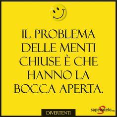 frasi divertenti Haha Funny, Lol, Italian Quotes, Bitch Quotes, Inspiring Things, Super Quotes, Sarcasm, Sentences, Tattoo Quotes