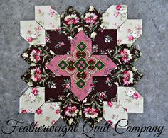 Lucy Boston Patchwork of the Crosses Block kit # 47
