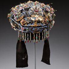 headdress with original ribbon.