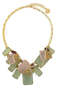 Louise et Cie Stone Statement Necklace available at #Nordstrom