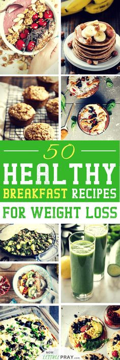Breakfast is undoubtedly the most important meal of the day. Not only that, but a healthy morning meal has been shown to kick-start your metabolism and greatly help with weight loss. Be sure that you are giving your body the proper nutrients that it needs. Check out these 50 healthy breakfast recipes to help you lose weight.