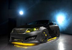 If Batman drove a Kia, it would look like this  Kia Motors, DC Entertainment, and Rides Magazine collaborate on a Kia Optima SX Limited that is inspired by Batman comic books