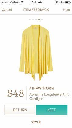 41 Hawthorn abrianna long sleeve cardigan