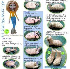 Irresistible Crochet a Doll Ideas. Radiant Crochet a Doll Ideas. Amigurumi Tutorial, Crochet Amigurumi, Doll Tutorial, Amigurumi Patterns, Amigurumi Doll, Doll Patterns, Crochet Patterns, Knitted Dolls, Crochet Dolls