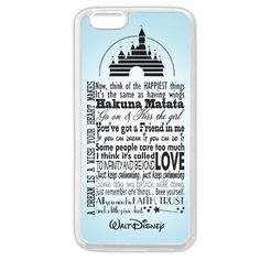 """Onelee Customized Disney Series Phone Case for iPhone 6+ Plus 5.5"""", Walt Disney Quotes iPhone 6 Plus 5.5"""" Case, Only Fit for Apple iPhone 6 Plus 5.5"""" (White Soft Rubber) Onelee http://www.amazon.com/dp/B00VB9Z7XO/ref=cm_sw_r_pi_dp_Ry6Xvb1BTDFCA"""