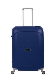 Maleta Gladiator Tarifa Dark Blue Polypropylene - #trolley #maleta #gold #travel #viajar #viagem #viatjar #maletas #suitcase #luggage #maletasGladiator #GladiatorTravel #Gladiator #darkblue #blue