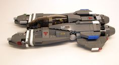 Fighter with dual cockpit and SNOT wings.
