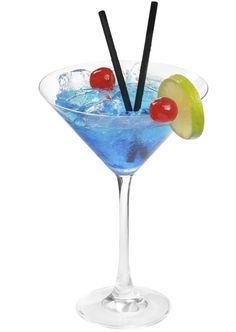 RED WHITE  BLUE MARTINI: In a shaker, combine 2 parts Pinnacle Blueberry Vodka, 1/4 part Blue Curaçao Liqueur, 1/2 part grenadine and a splash of lemon-lime soda. Shake with ice, then strain into a chilled martini glass. Garnish with blueberries. (Recipe courtesy Pinnacle Vodka)  Credit Handout
