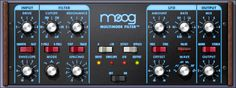Moog® Multimode Filter / Multimode Filter SE Plug-In | UAD