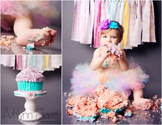First Birthday, Cake Smash, Baby Cake Smash, Newborn Photography