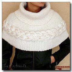 modele chauffe epaules tricot gratuit alphite