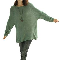 Chuangmei Womens Ladies Long Sleeve Knit Loose Casual Winter Pullover Sweaters (Sweater 1) at Amazon Women's Clothing store: